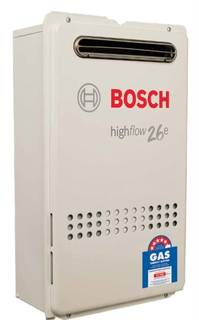 Bosch 26e Price Installed 1640 Continuous Flow Gas Hot