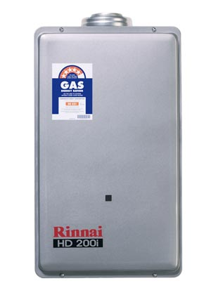The Rinnai tankless water heater is a more efficient way to heat water for your home. The Rinnai Tankless Hot water heater, heats water quickly and delivers an